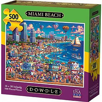 Miami Beach (Dowdle Folk Art - 500pc)
