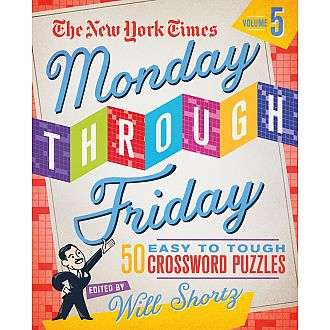 NYT Monday through Friday: Easy to Tough Crosswords vol 5