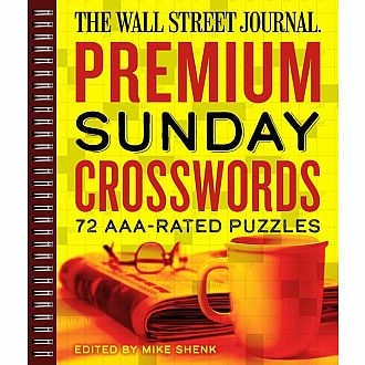 Wall Street Journal Premium Sunday Crosswords 72 AAA-rated Puzzles