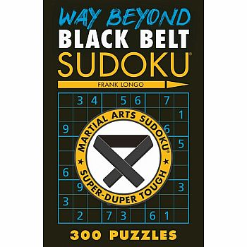 Way Beyond Black Belt Sudoku