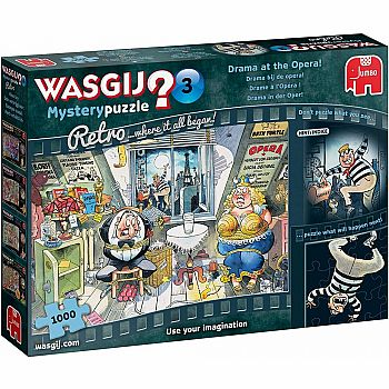 WASGIJ Retro Mystery 3: Drama at the Opera (Jumbo - 1000pc)