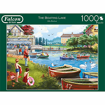 The Boating Lake (Jumbo - 1000pc)
