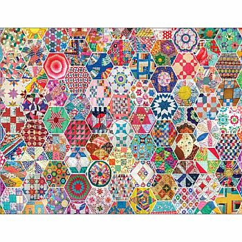 Crazy Quilts (Springbok - 500 pc)