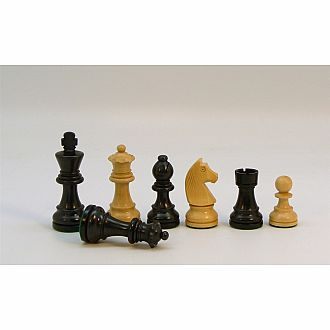 Chessmen Black/Boxwood 3.25