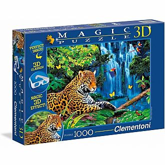 Jaguar Jungle - 3D Puzzle