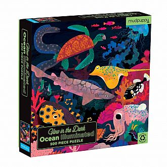 Ocean Illuminated Glow in the Dark Puzzle (Mudpuppy - 500 pc)