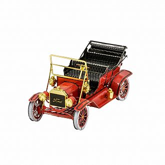 Metal Earth 1908 Ford Model T Red