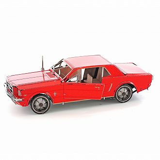 Metal Earth: 1965 Ford Mustang Red