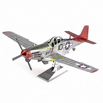 ICONX: Tuskegee Airman P-51D Mustang - color