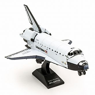 Metal Earth: Space Shuttle Atlantis - color