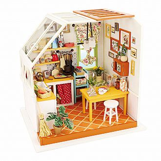 Jason's Kitchen Miniature DIY House Series