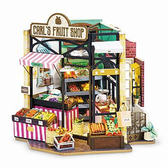 Carls Fruit Shop DIY Miniture House Series