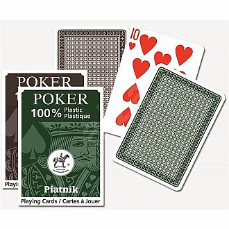 Poker Plastic Playing Cards