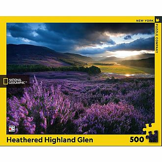 Heathered Highland Glen