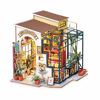 Emily's Flower Shop DIY Miniature House Series