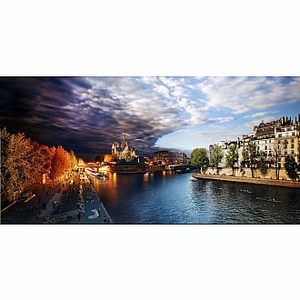 D2N: PONT DE LA TOURNELLE Paris Series by Stephen Wilkes