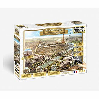 Scratch Off: Paris History Puzzle