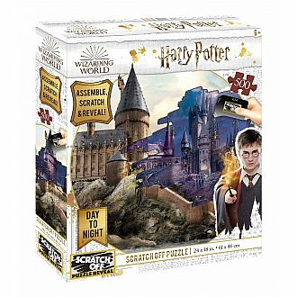 Scratch Off: Hogwarts Day to Night Puzzle