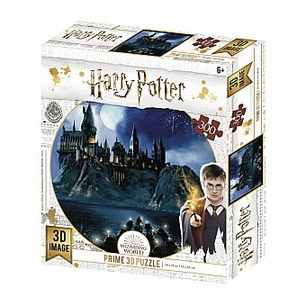 Lenticular 3D: Hogwarts Wizarding World at Night Puzzle