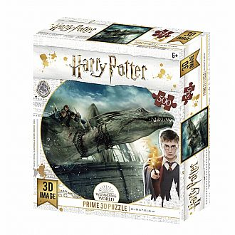 Lenticular 3D: Harry Potter Dragon Puzzle