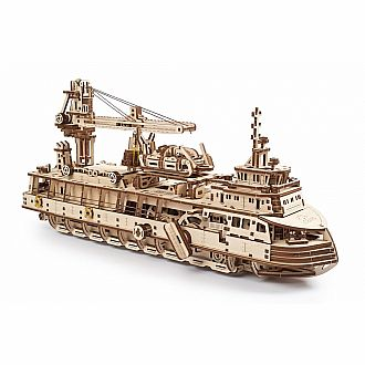 UGears 3D: Research Vessel