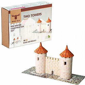 Mini Bricks Two Towers Constructor Set