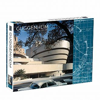 Guggenheim Double Sided Puzzle - Frank Lloyd Wright