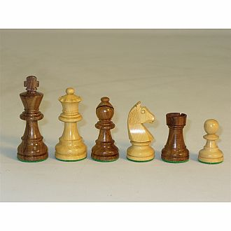 "Chessmen: Sheesham German 3"" King"