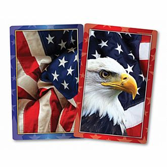 American Pride Card Set Double Deck
