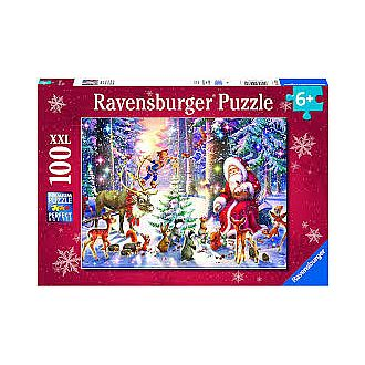 Christmas in the Forest (Ravensburger  100pc)