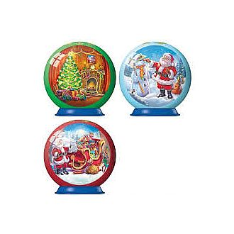 Christmas Puzzle Ball (Assorted) (Ravensbruger - 56pc)