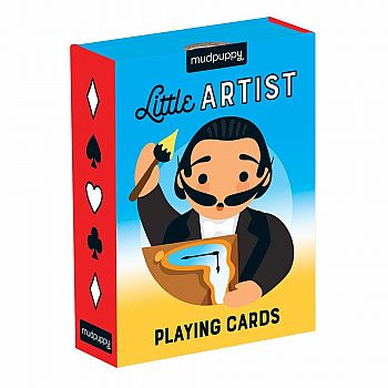 Little Artist Playing Cards
