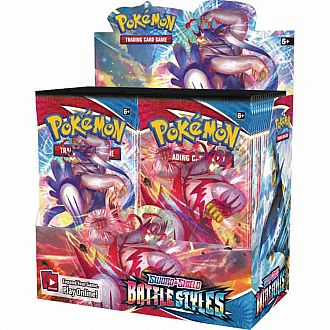 POKEMON TCG: SWORD AND SHIELD Battle Styles Booster Packs