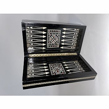 Backgammon 10 Inch Mother of Pearl