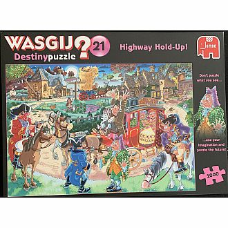 Wasgij Highway HoldUp Destiny 21