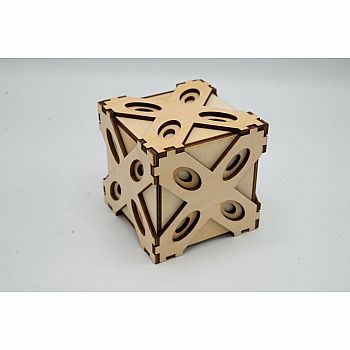 Answer Box aka x Box multistep puzzle box