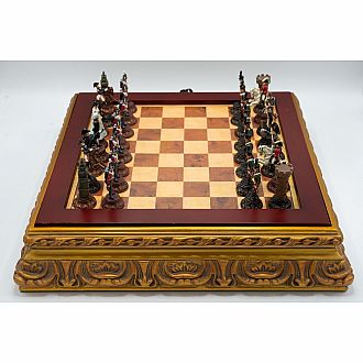 Chess Set: French Revolution in Chest