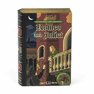Romeo and Juliet Book Jigsaw Double Sided