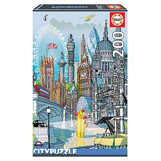 London (Educa 200 pcs)