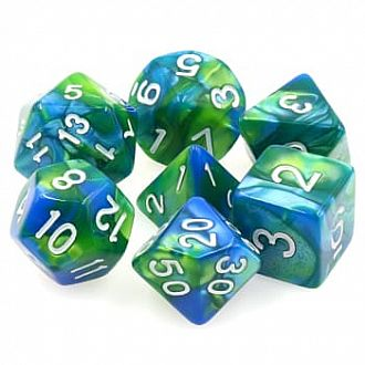 Sirens Call Polyhedral Dice Set