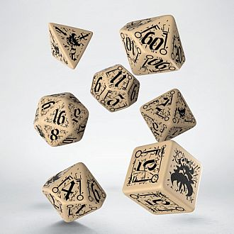 Pathfinders Council of Thieves dice - Polyhedral 7 Set