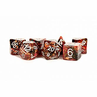 Eternal Fire - 7 Polyhedral dice