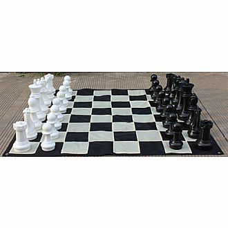 Chess set: 16K 5.3 squareGarden Set Plastic