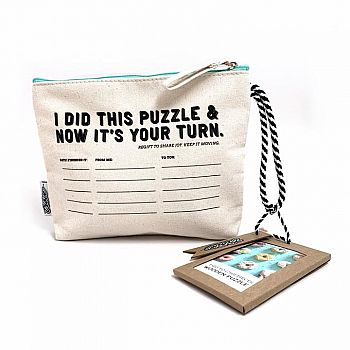 9 Donuts in Pass-it-on Puzzle Pouch