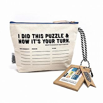 Mix Tapes in Pass-it-on Puzzle Pouch