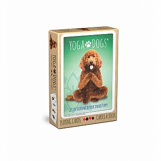Yoga Dogs Playing Cards