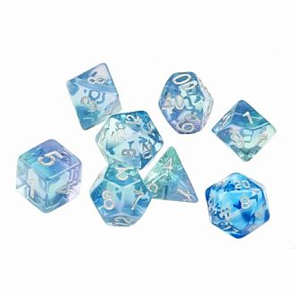 Emerald Waters 7 Polyhedral Set