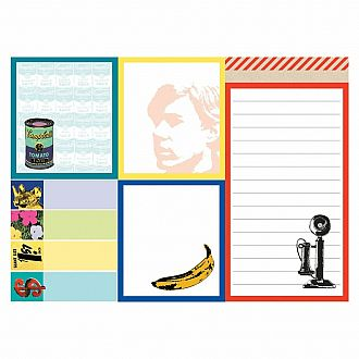 Andy Warhol's Greatest Hits Sticky Notes