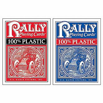 100 Plastic Rally Card Deck