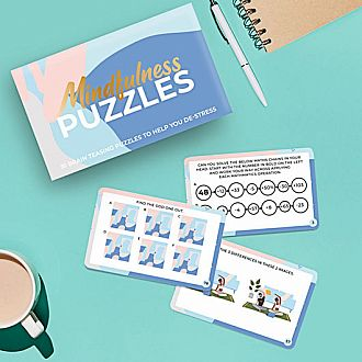 Mindfulness Brain Training Puzzle Cards